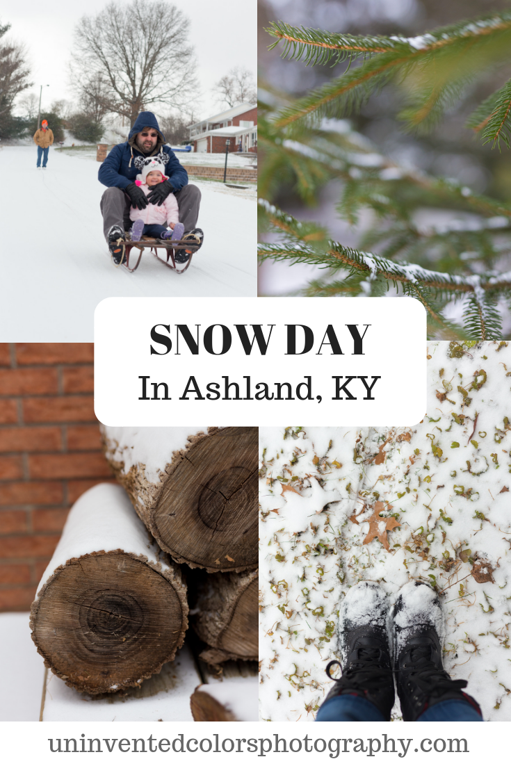 A Two-Year-Old's First Snow Day in Ashland, KY