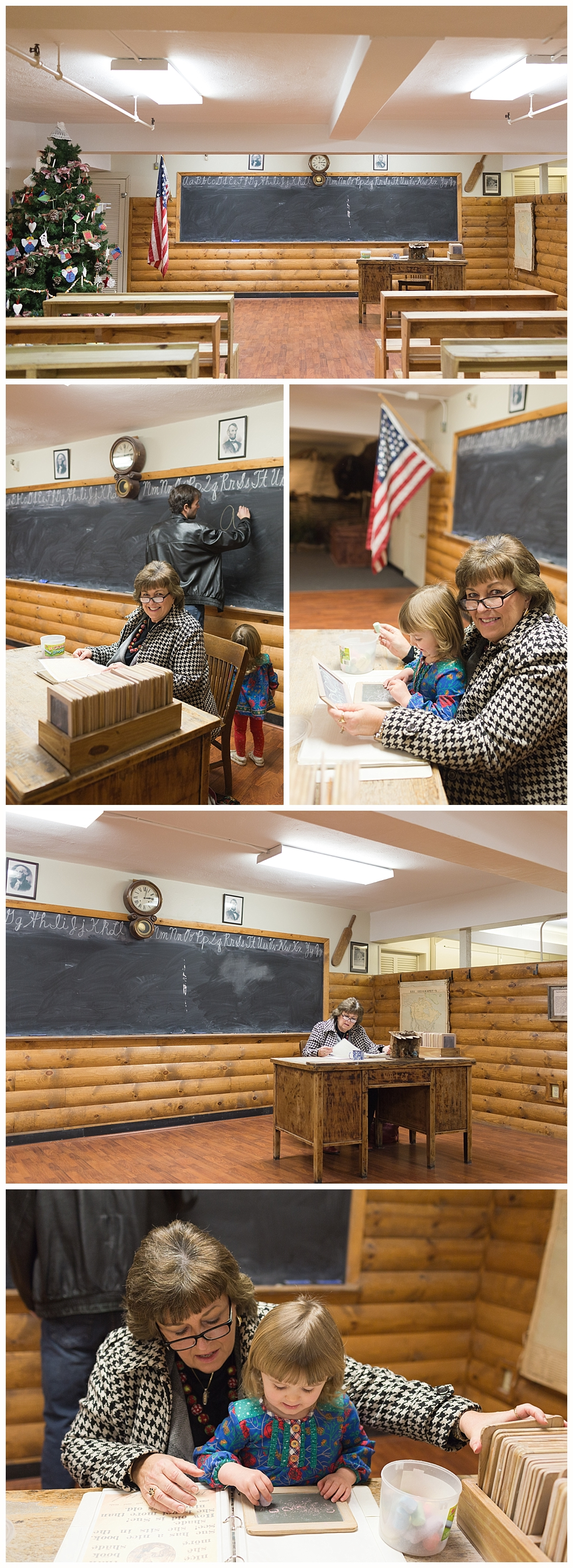 old classroom at Kentucky Highlands Museum in Ashland, KY