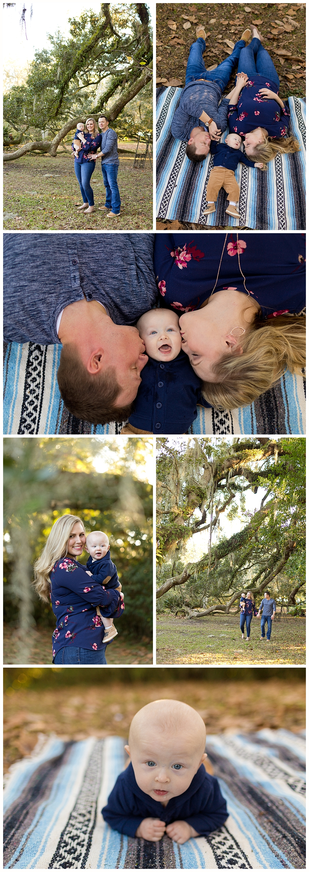 Ocean Springs Family Photographer - family pictures at the Ruskin Oak in Ocean Springs