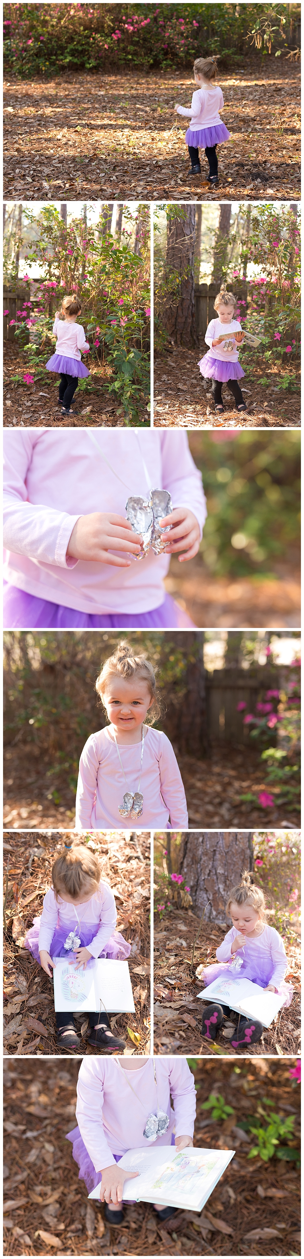 easy costume for Read Across America Day - The Silver Slippers necklace craft