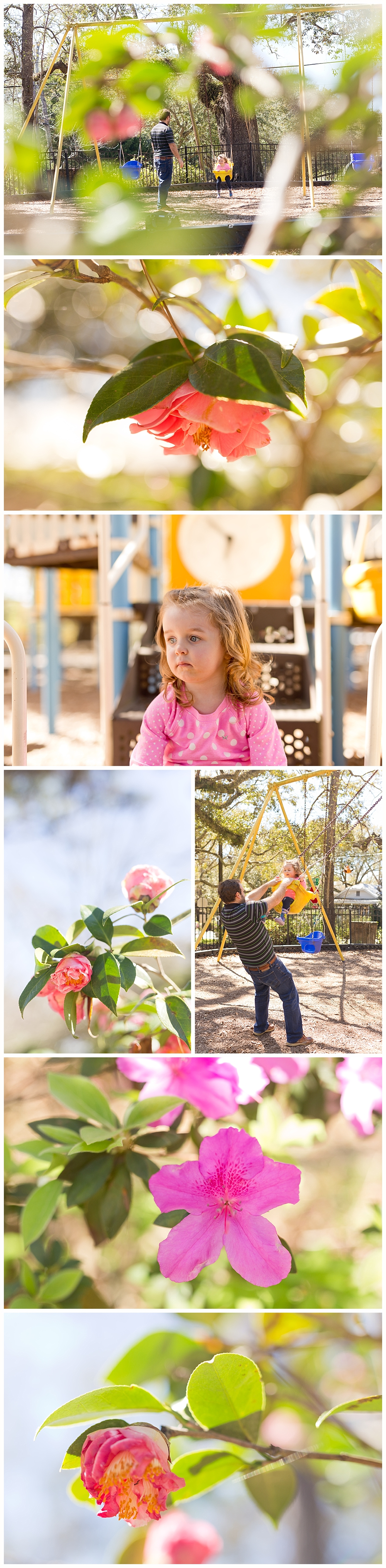 family lifestyle and nature photographs at Little Children's Park in Ocean Springs