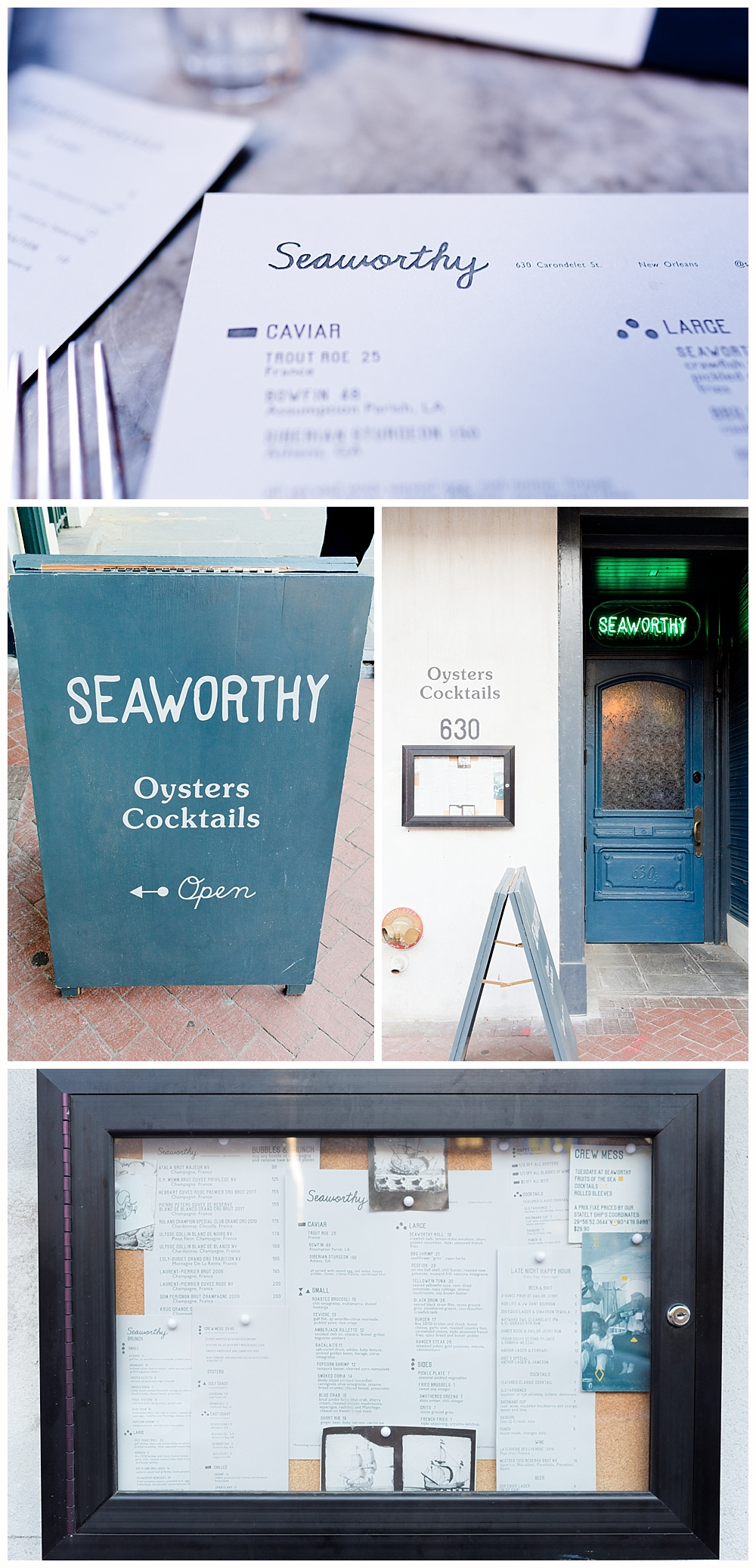 Seaworthy - New Orleans seafood restaurant review