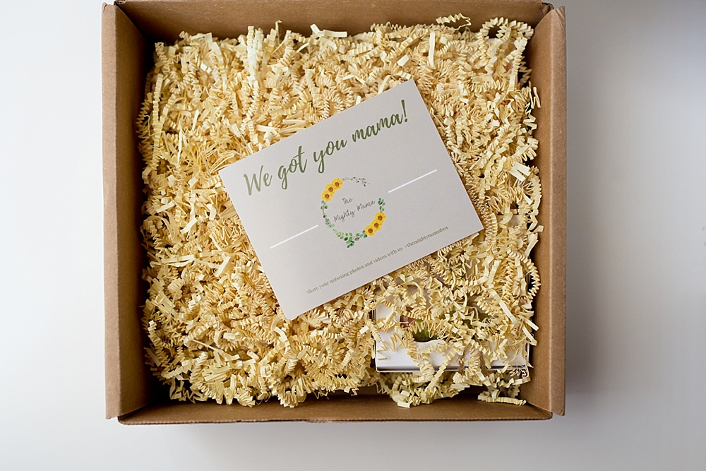 subscription box for new moms - the Mighty Mama
