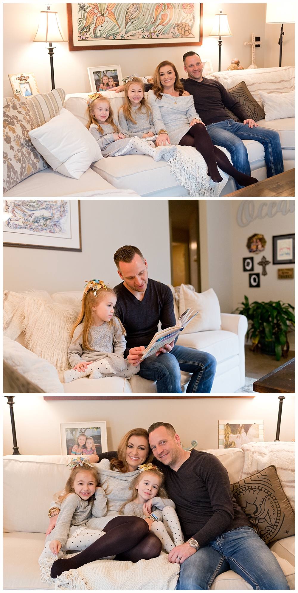 at-home lifestyle family photos in Ocean Springs, Mississippi