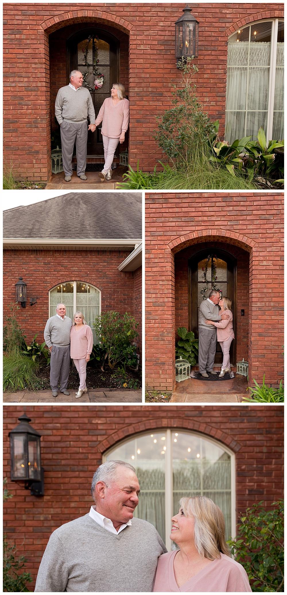couple's photos at home - Ocean Springs photographer