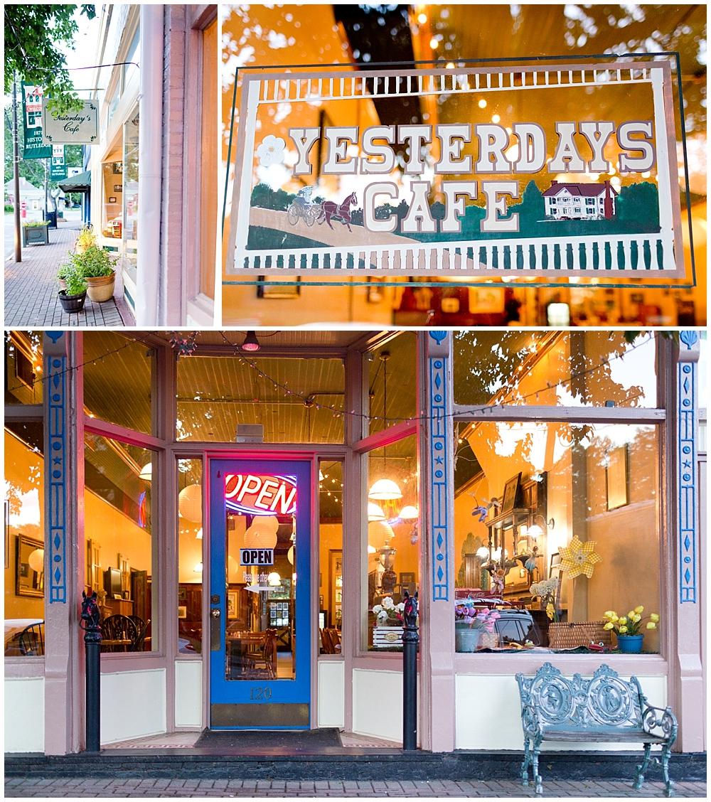 Yesterdays Cafe in Rutledge, Georgia