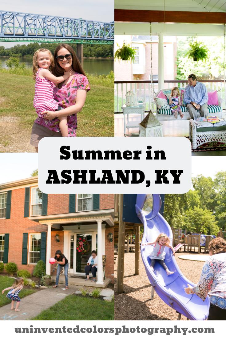 Summer in Ashland, Kentucky - family travel blog post