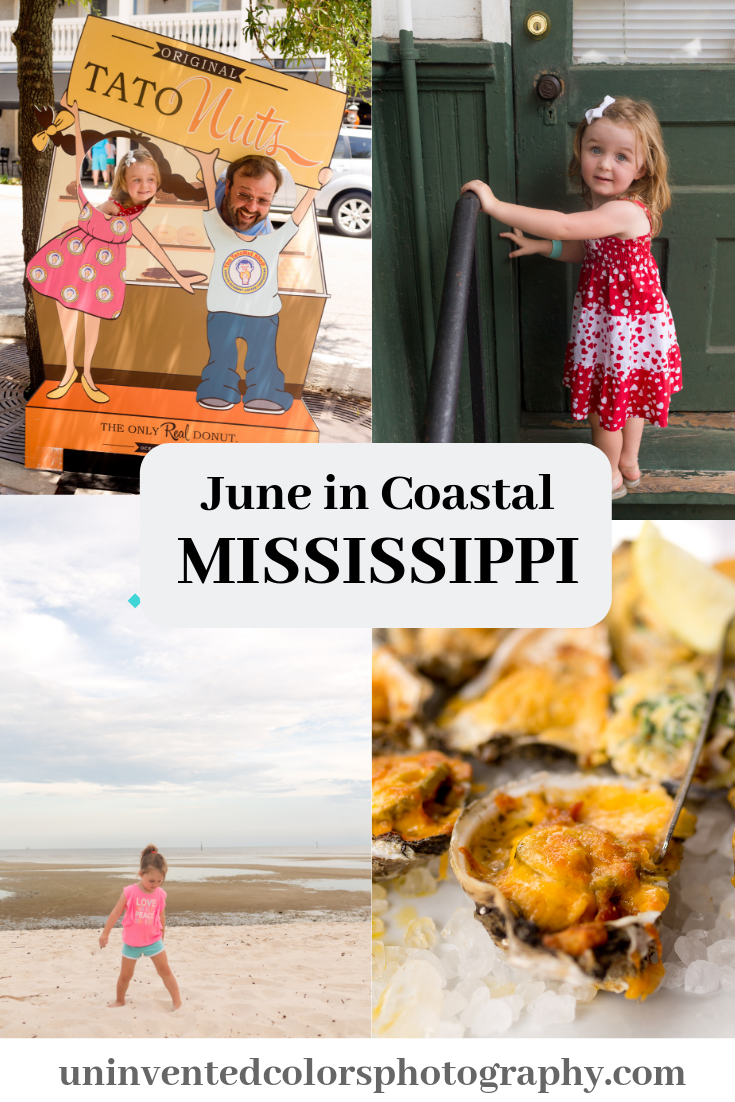 Coastal Mississippi in June blog post