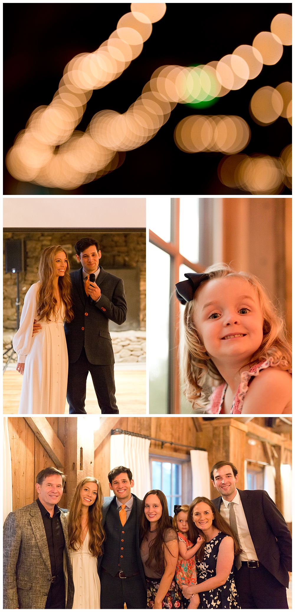 family photos at Holderness, NH wedding at The Barn on the Pemi