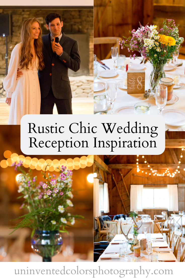 Rustic Chic Wedding Reception Inspiration blog post - Ocean Springs wedding photographer