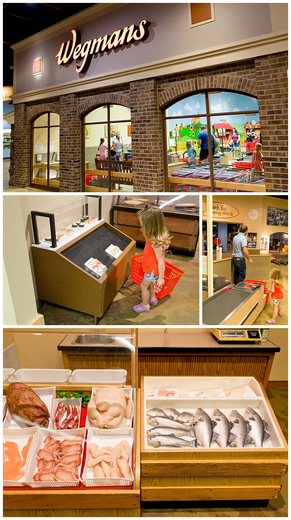 Wegman's grocery story exhibit at Strong National Museum of Play