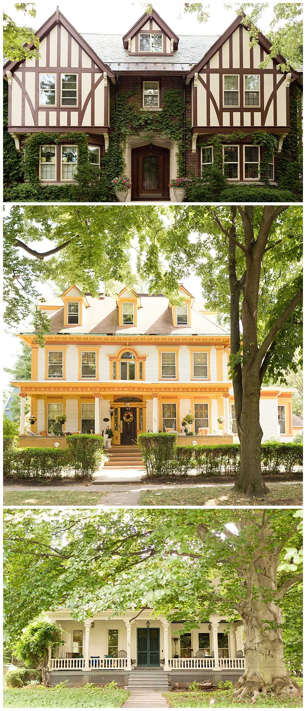 beautiful historic homes in downtown Rochester, New York