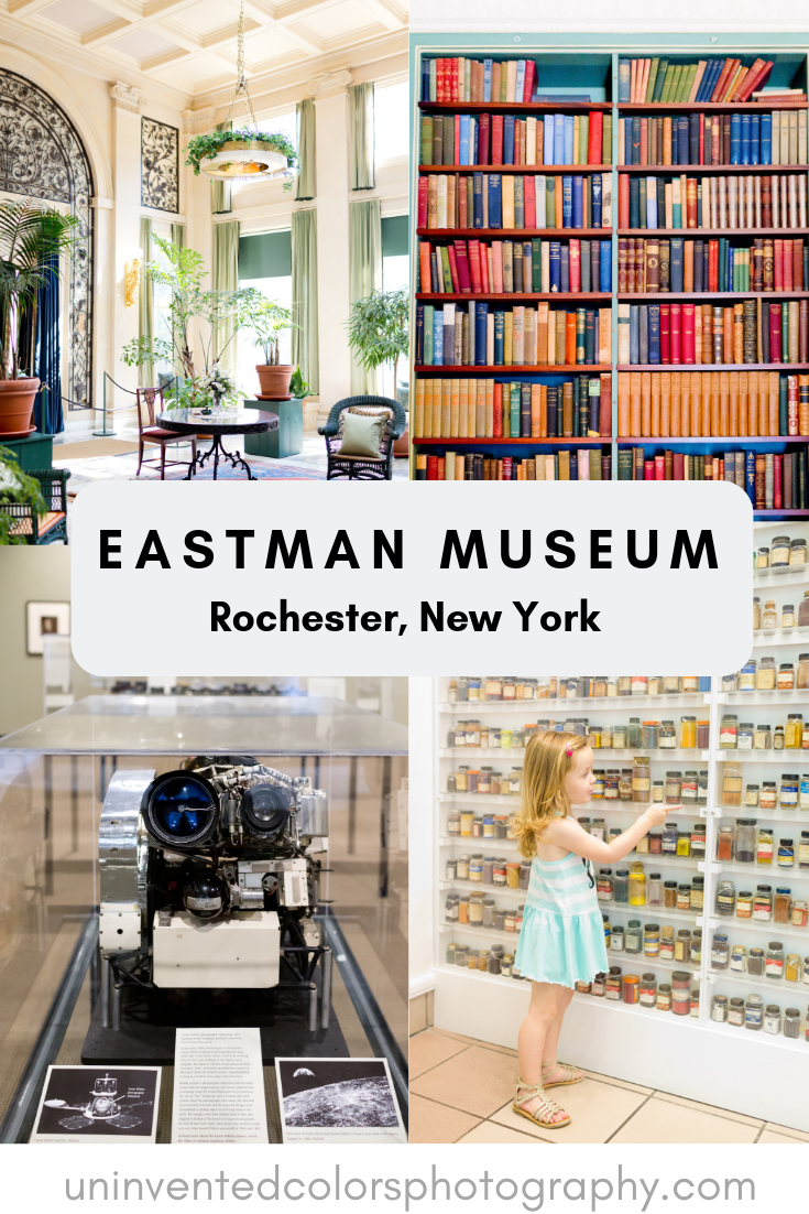 travel blog post about visiting The Eastman Museum in Rochester, New York