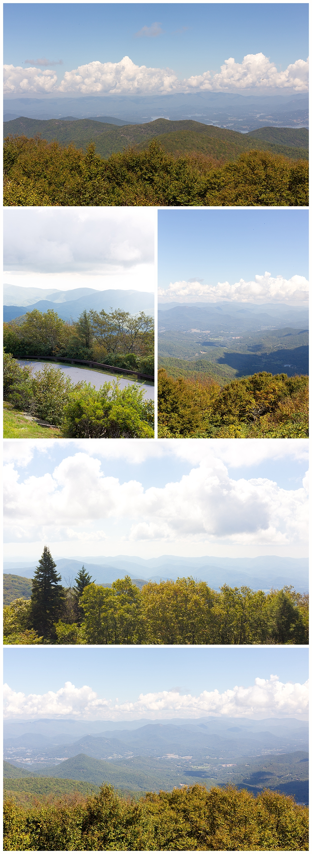 beautiful mountain scenery in Georgia - views from Brasstown Bald
