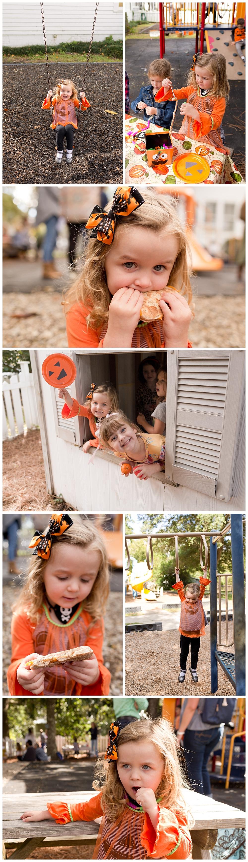 preschoolers at Fall Festival in Ocean Springs, MS