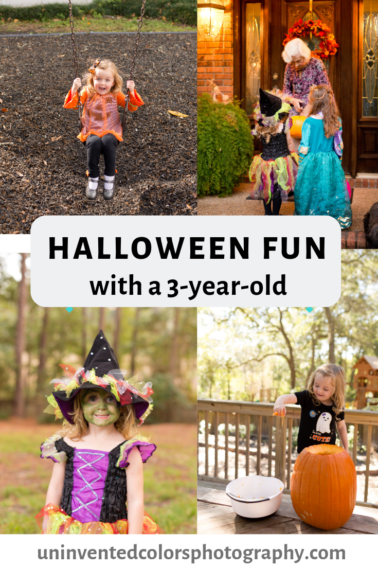 Halloween with a 3-year-old blog post - Ocean Springs, Mississippi family lifestyle blogger