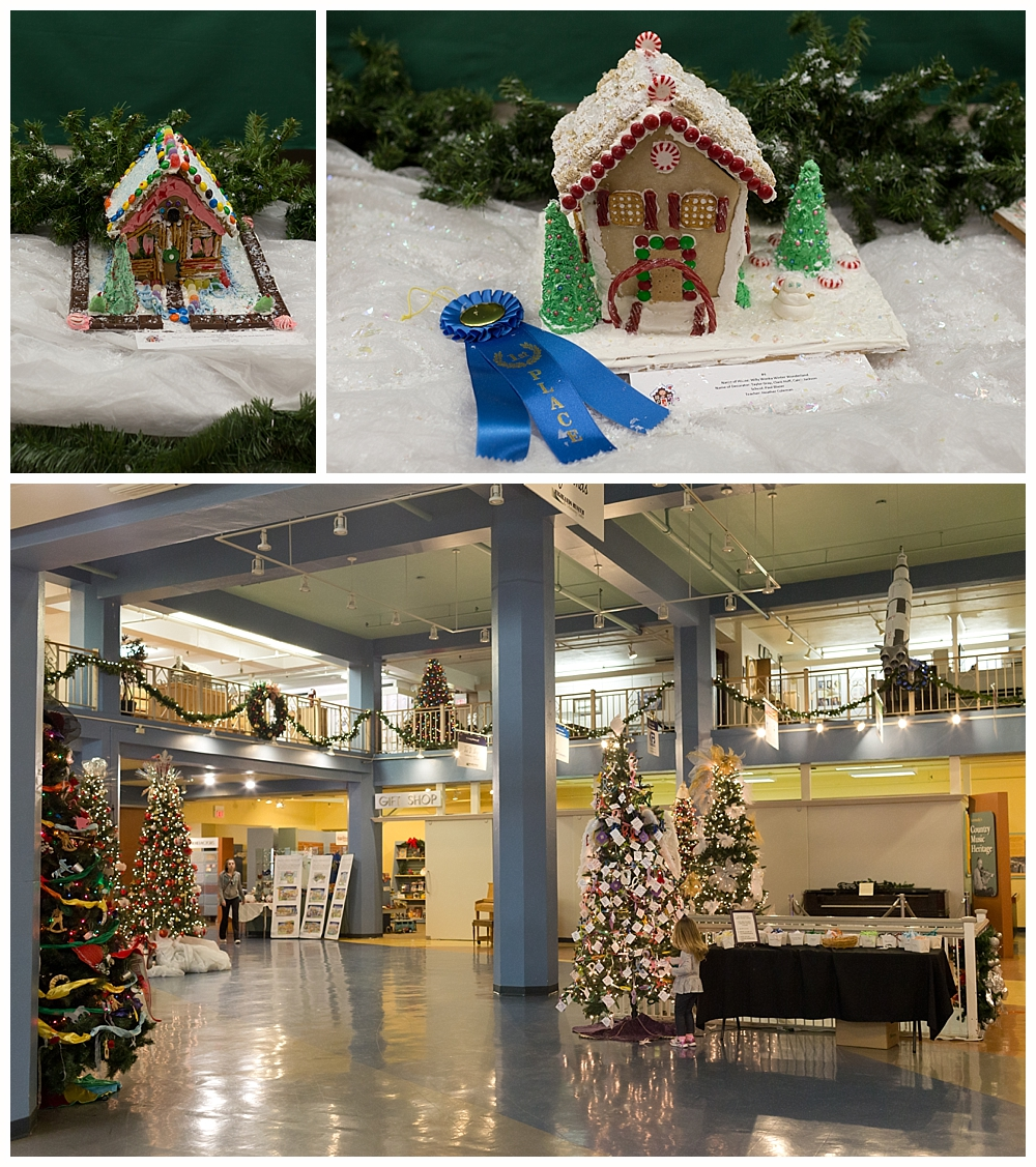Christmas decorations at Highlands Museum and Discovery Center in Ashland, KY
