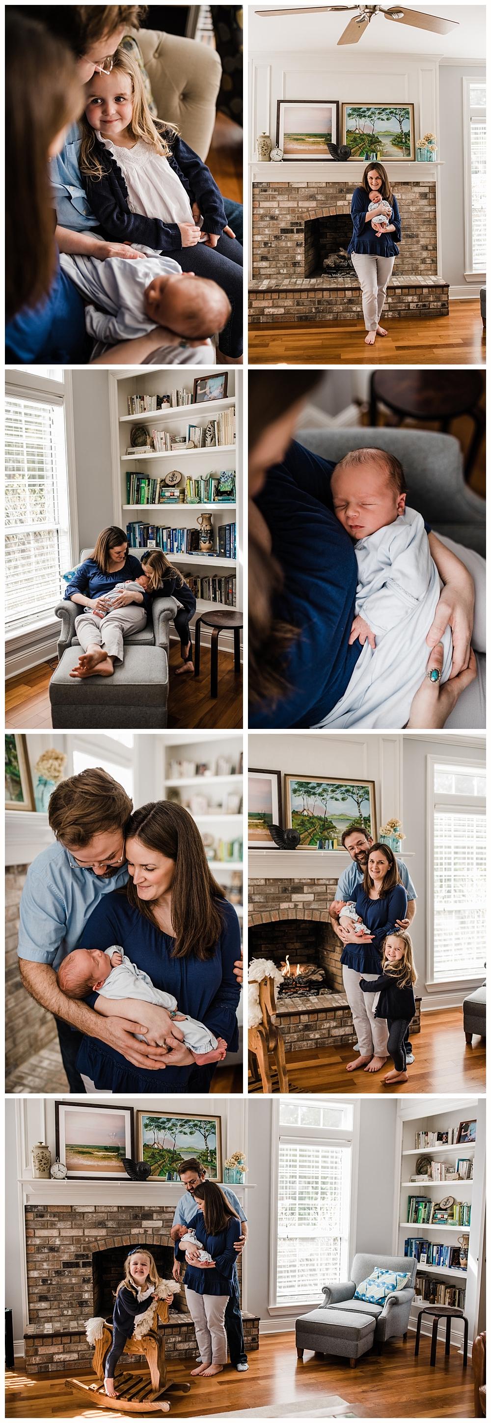 lifestyle newborn photographer in Ocean Springs, Mississippi