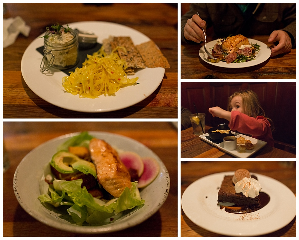 food at Gray's on Main in Franklin, TN