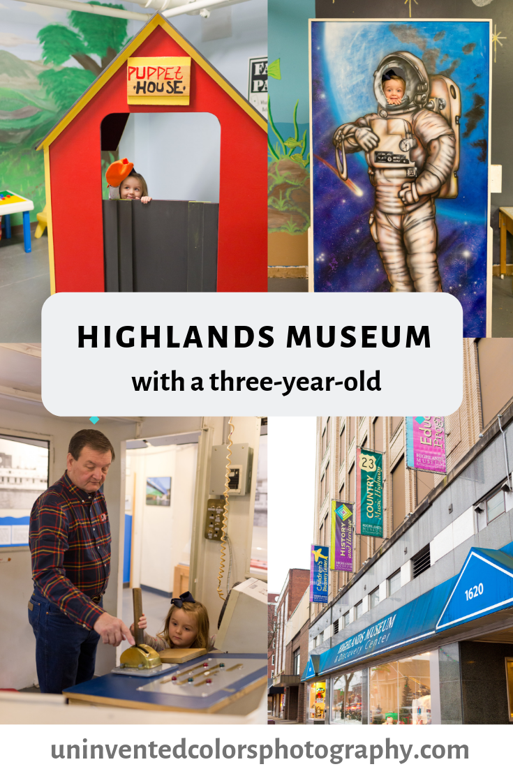 Highlands Museum with a three-year-old blog post
