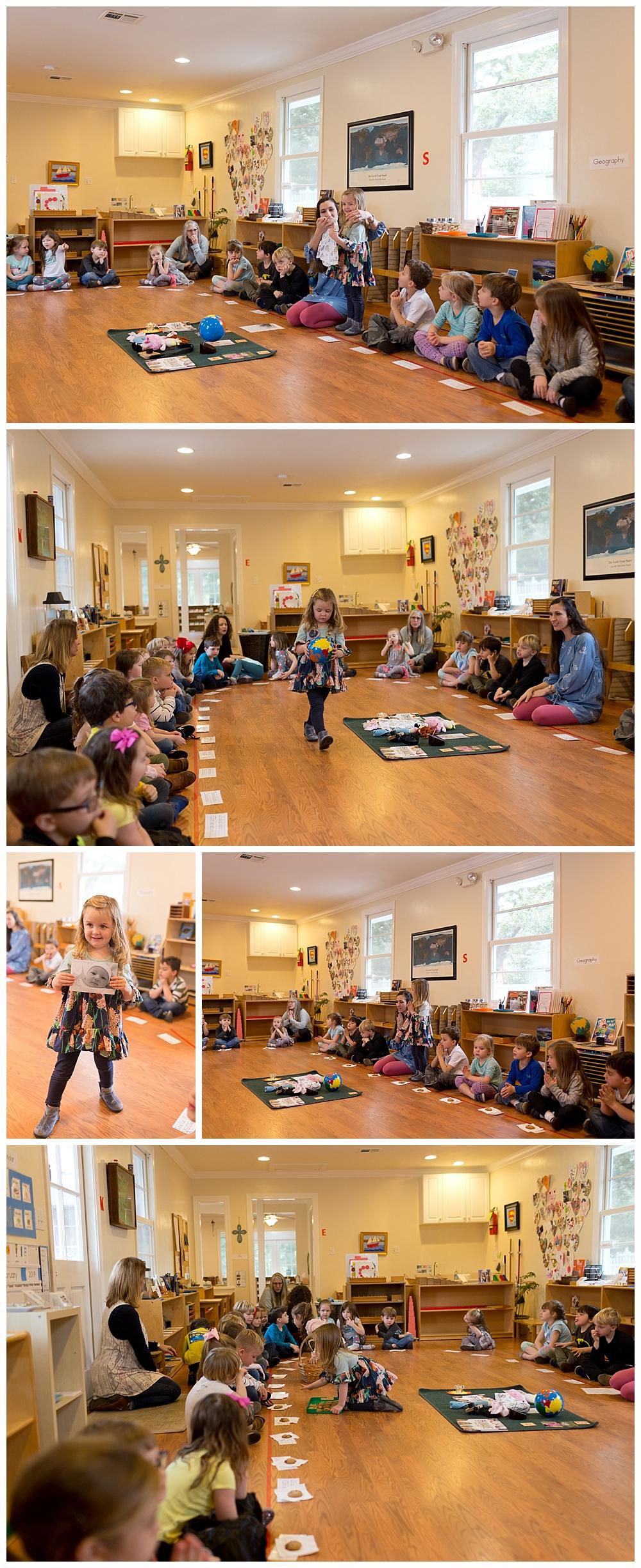 Montessori birthday celebration