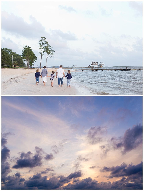 Ocean Springs East Beach family photos