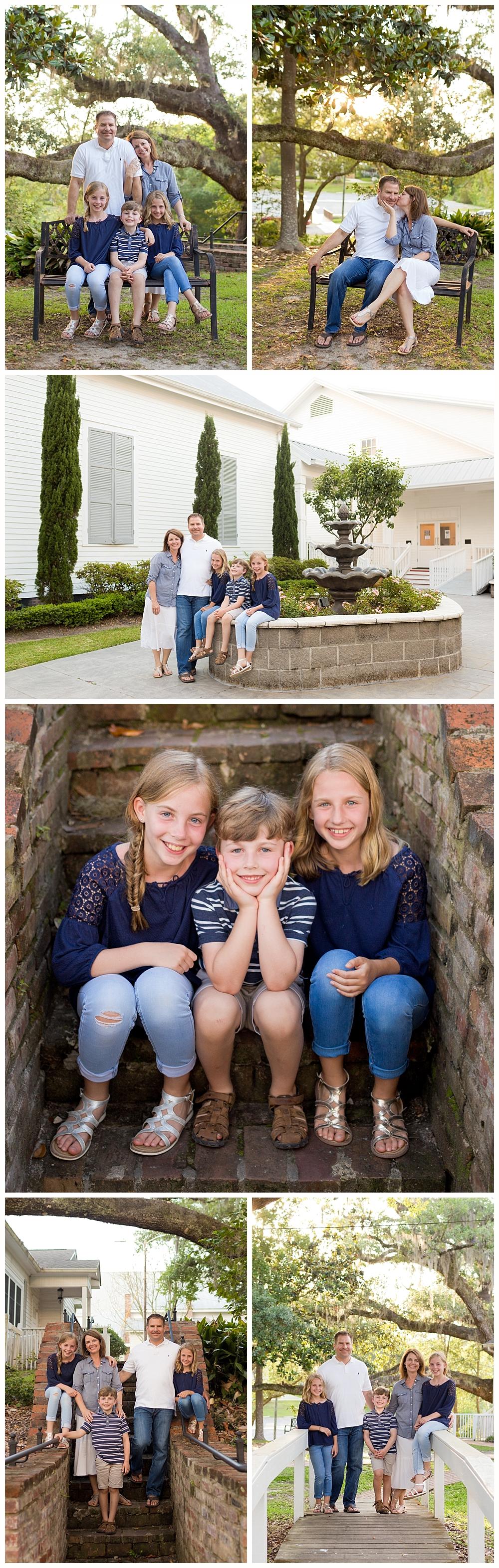 Ocean Springs family photographer - First Presbyterian Church