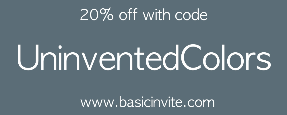 Basic Invite coupon code for invitations
