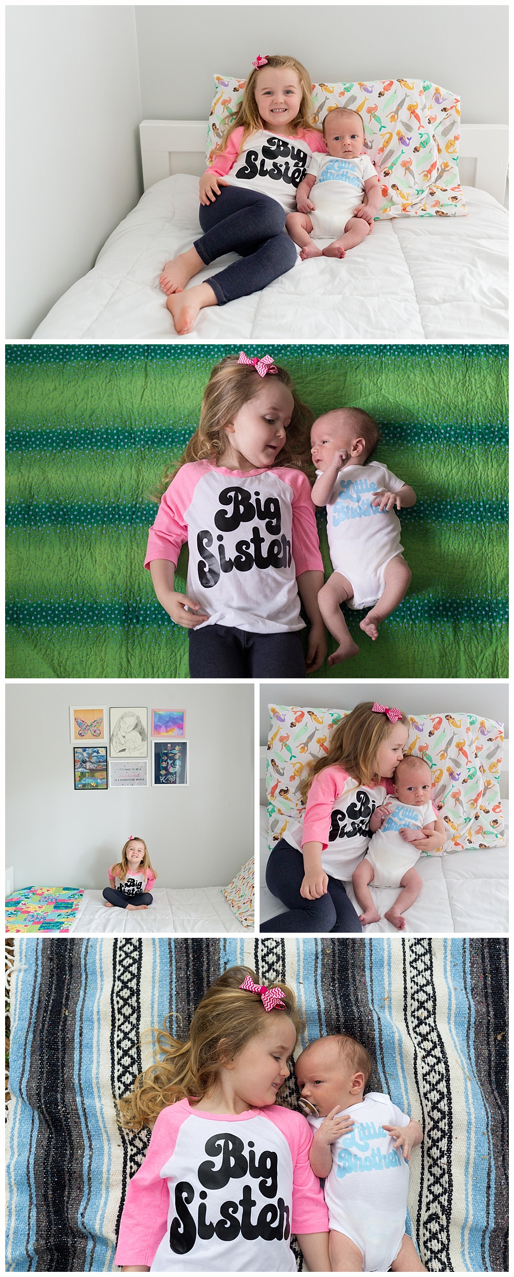 cute big sister, little brother t-shirts
