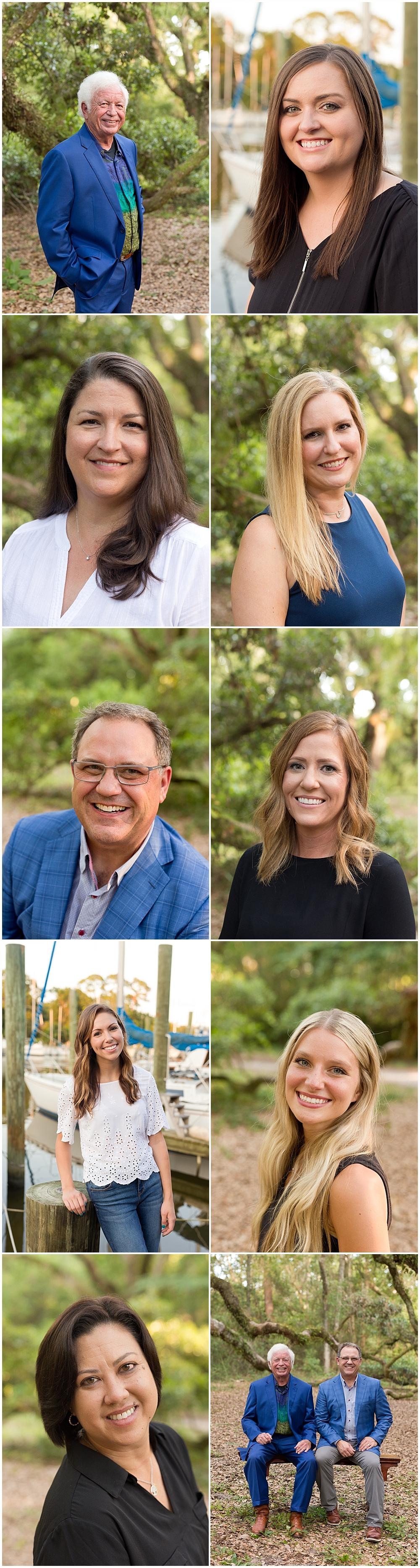professional headshots in Ocean Springs, MS branding photographer