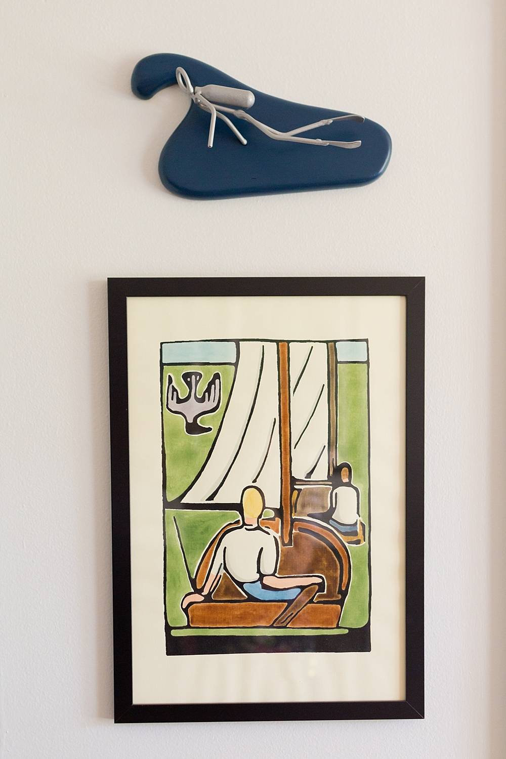nautical wall art for baby boy nursery decor - Walter Anderson sailing print