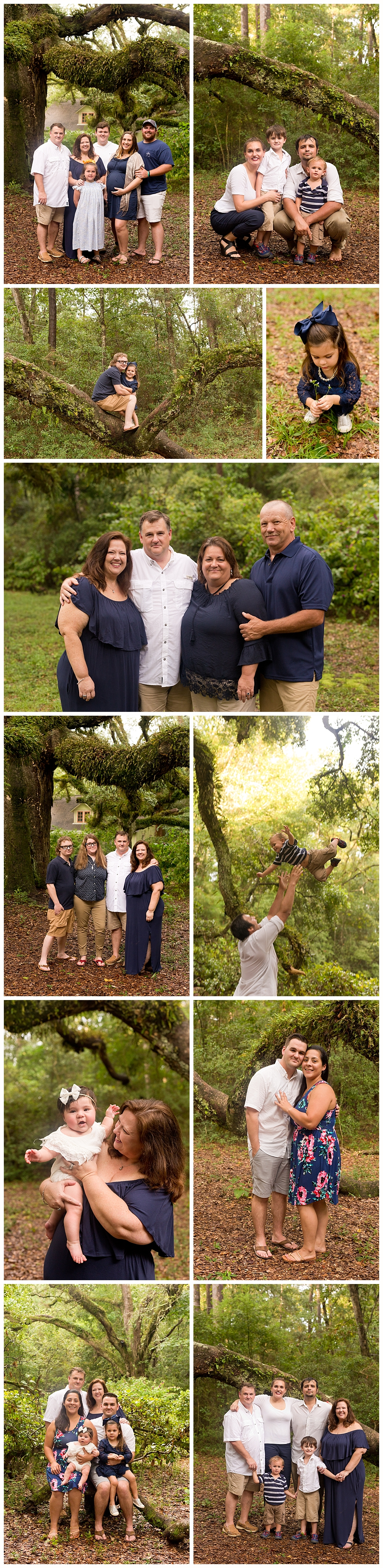 extended family photos in Ocean Springs, MS