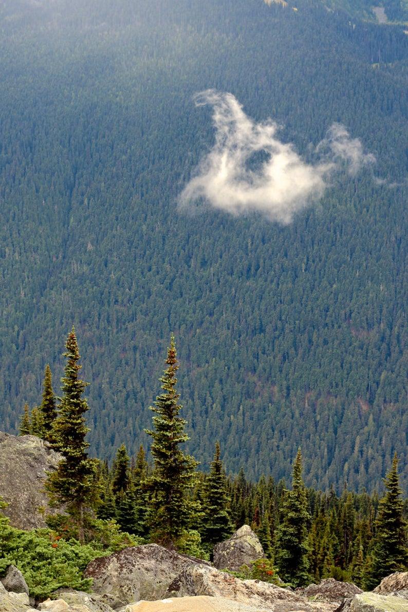 landscape photo Whistler Mountain