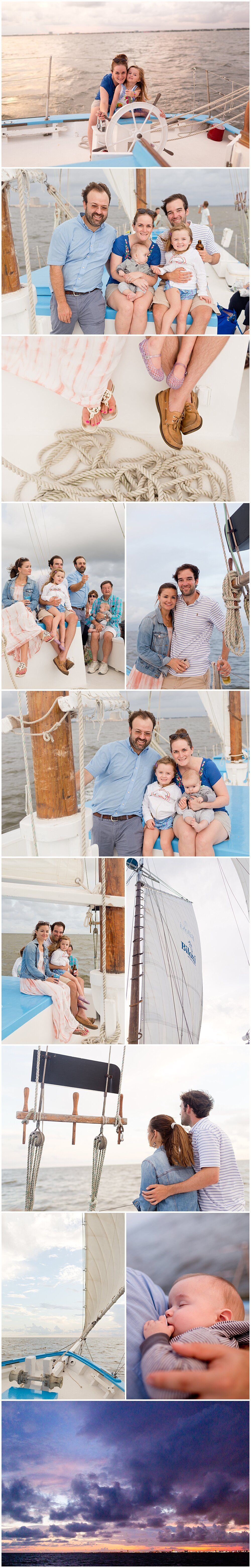 private sunset cruise on Biloxi Schooner - Mississippi Gulf Coast fun