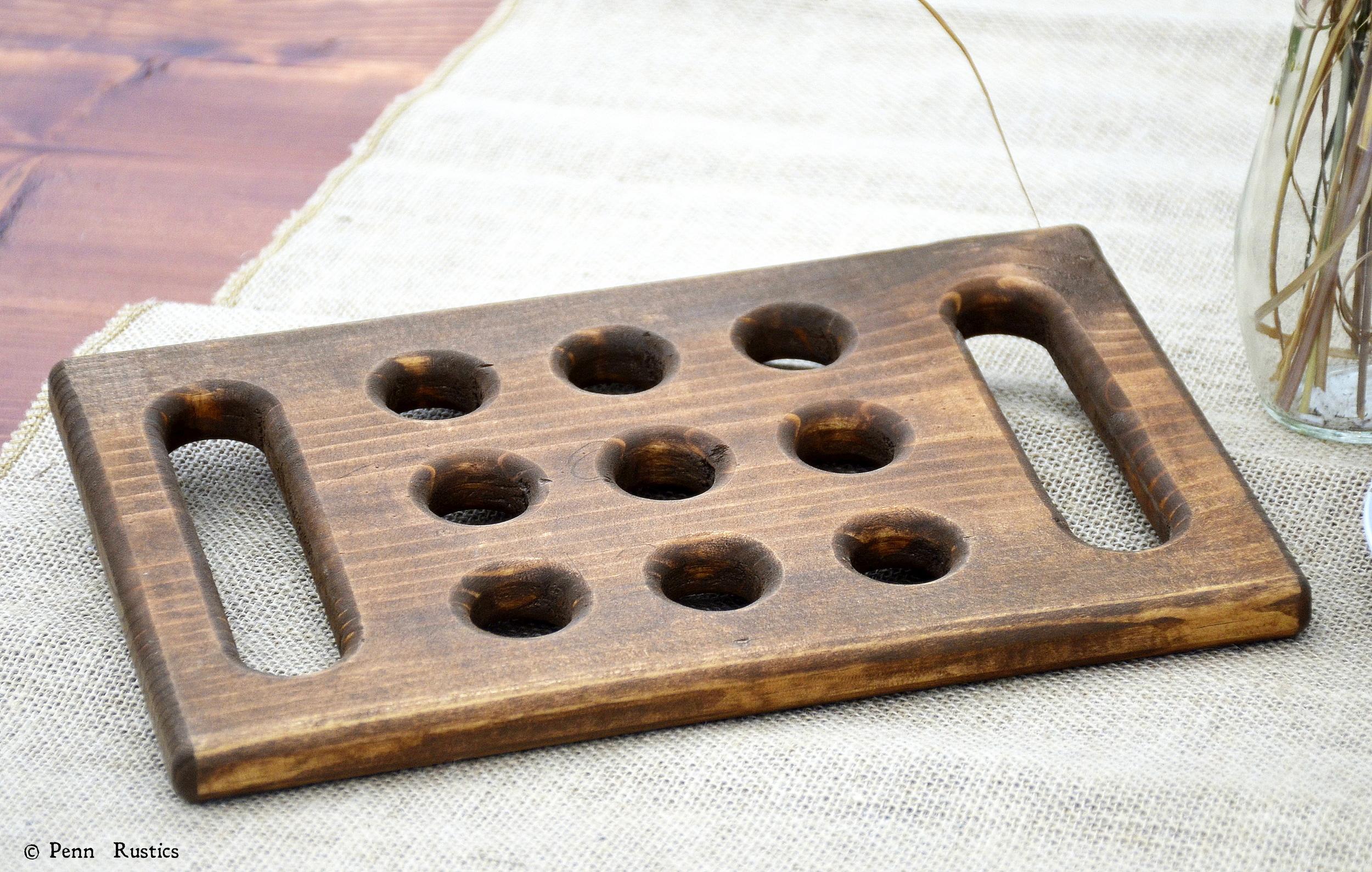 Wood Trivet Wooden Trivet Hot Pad Christmas Gift Penn Rustics