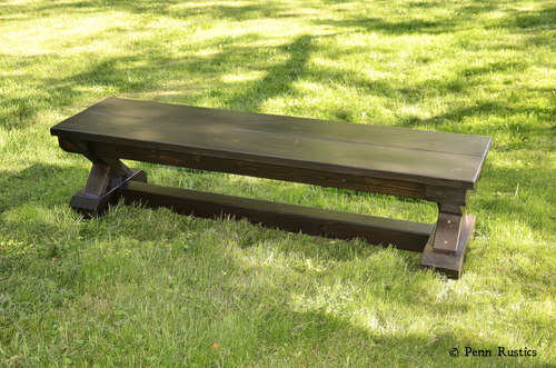 RUSTIC X TRESTLE FARMHOUSE BENCH.jpg
