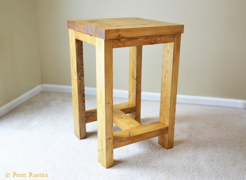 EVERYDAY RUSTIC WOOD STOOL.jpg
