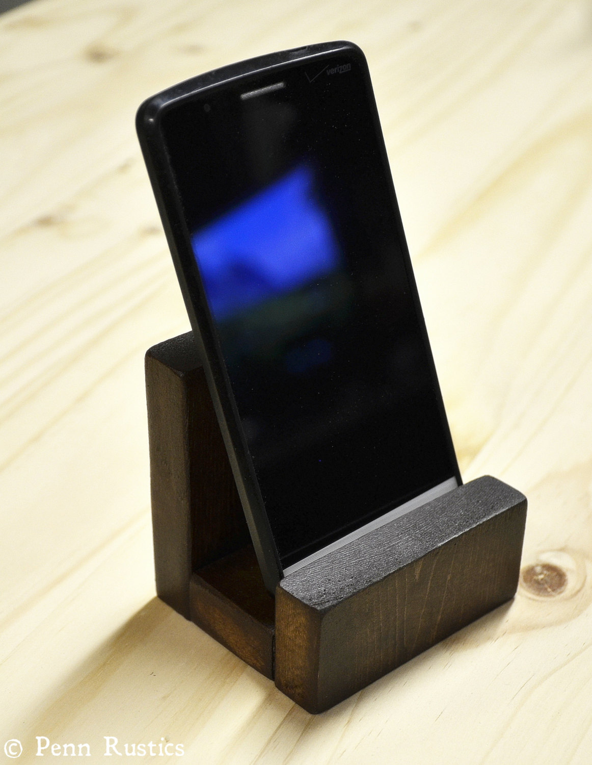 Everyday Rustic Phone Stand.jpg