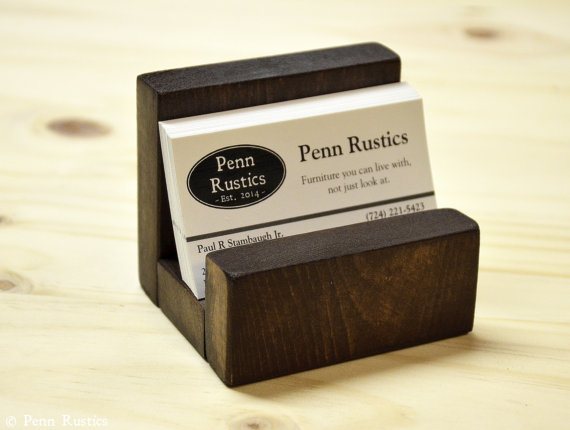 Everyday Rustic Business Card Holder.jpg