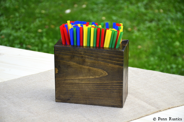 EVERYDAY RUSTIC WOOD STRAW HOLDER.jpg