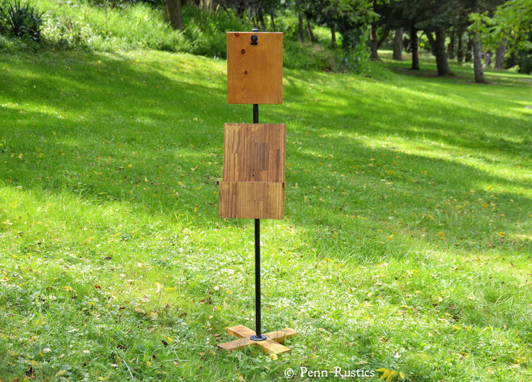 EVERYDAY RUSTIC FREESTANDING MENU HOLDER PEDESTAL DISPLAY.jpg