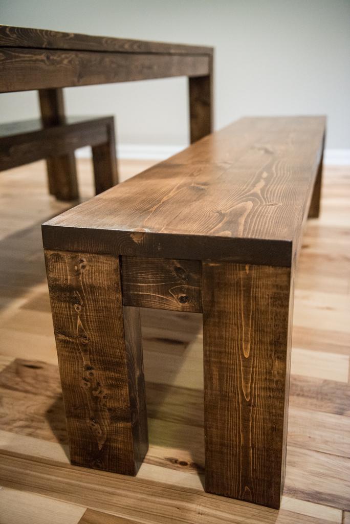 Modern Rustic Table and Bench Set. Eva3.jpg