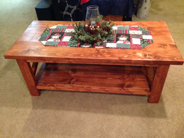 Rustic X Coffee Table. Huck.JPG