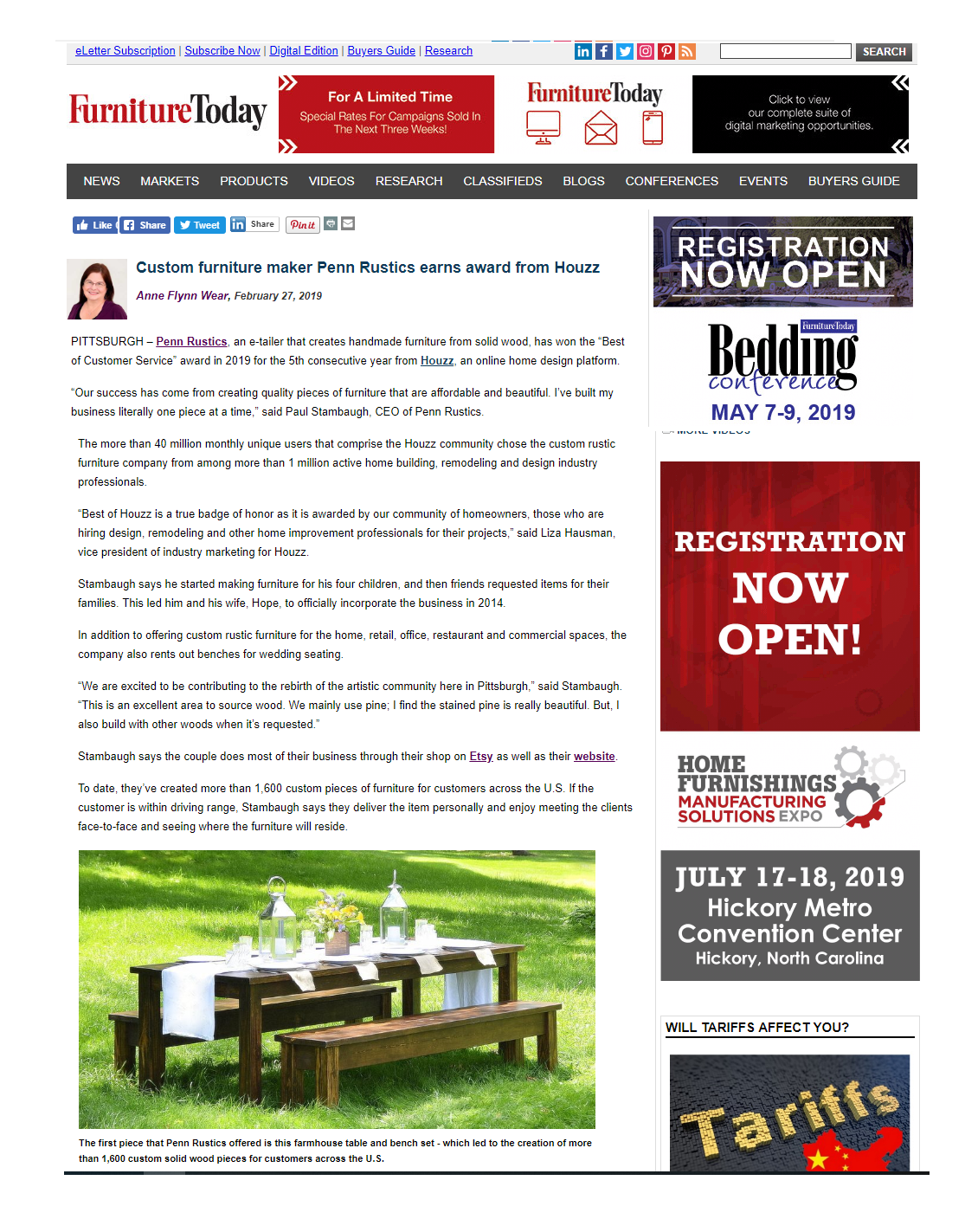 Penn Rustics_Furniture Today Article_2019_02_27.png