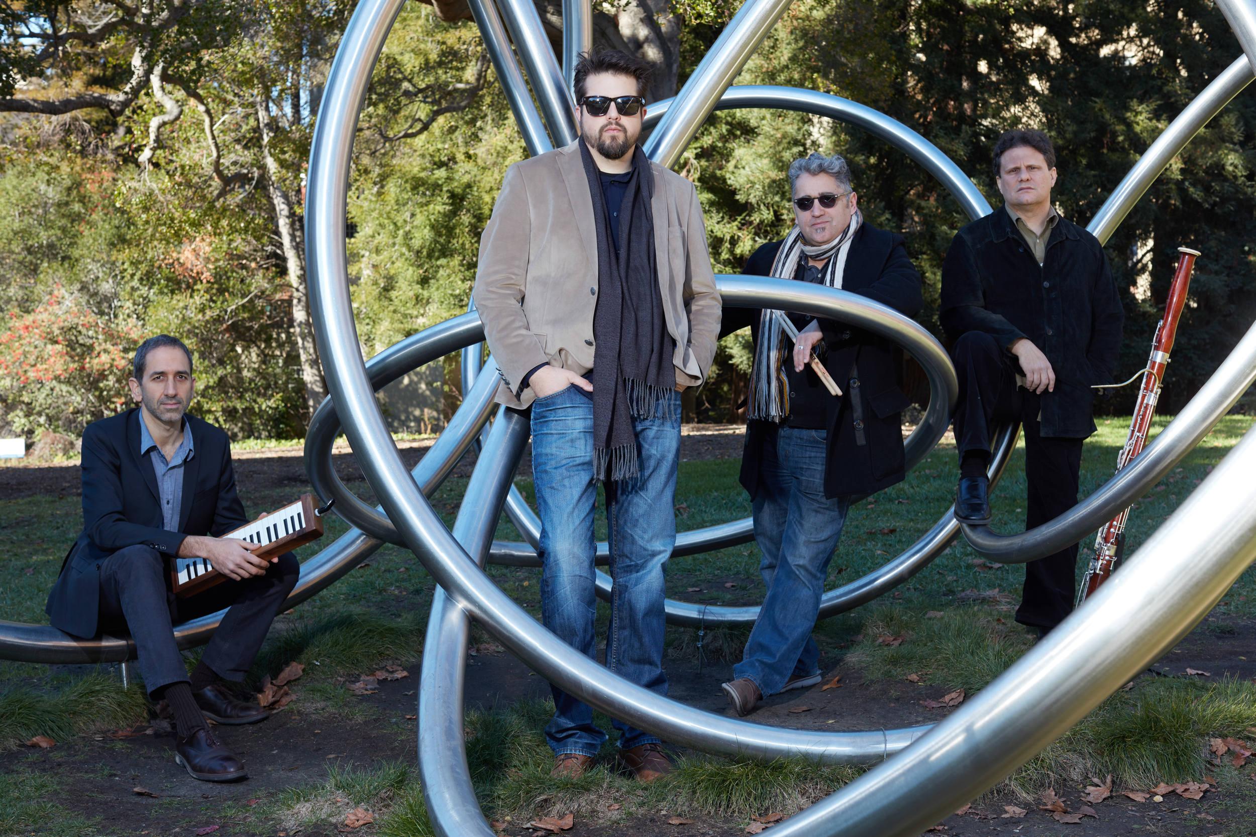 Jeff Denson Quartet, photo by A-Retrospective