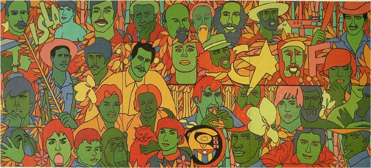 The Cuban Revolution and Machismo (Image from Isla 70, Raúl Martínez, 1970)