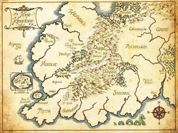 The Nine Kingdoms