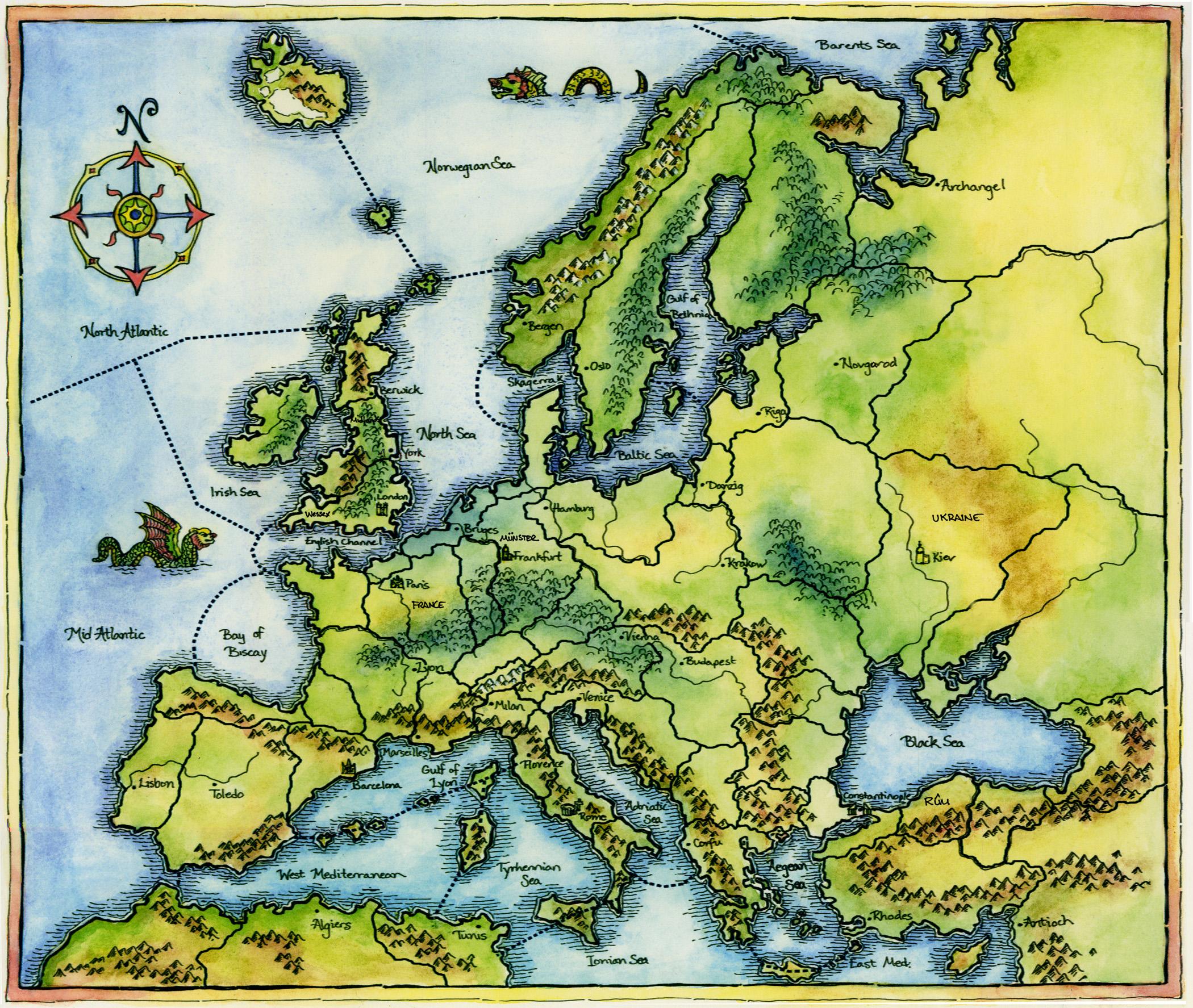 Civilization Game Map
