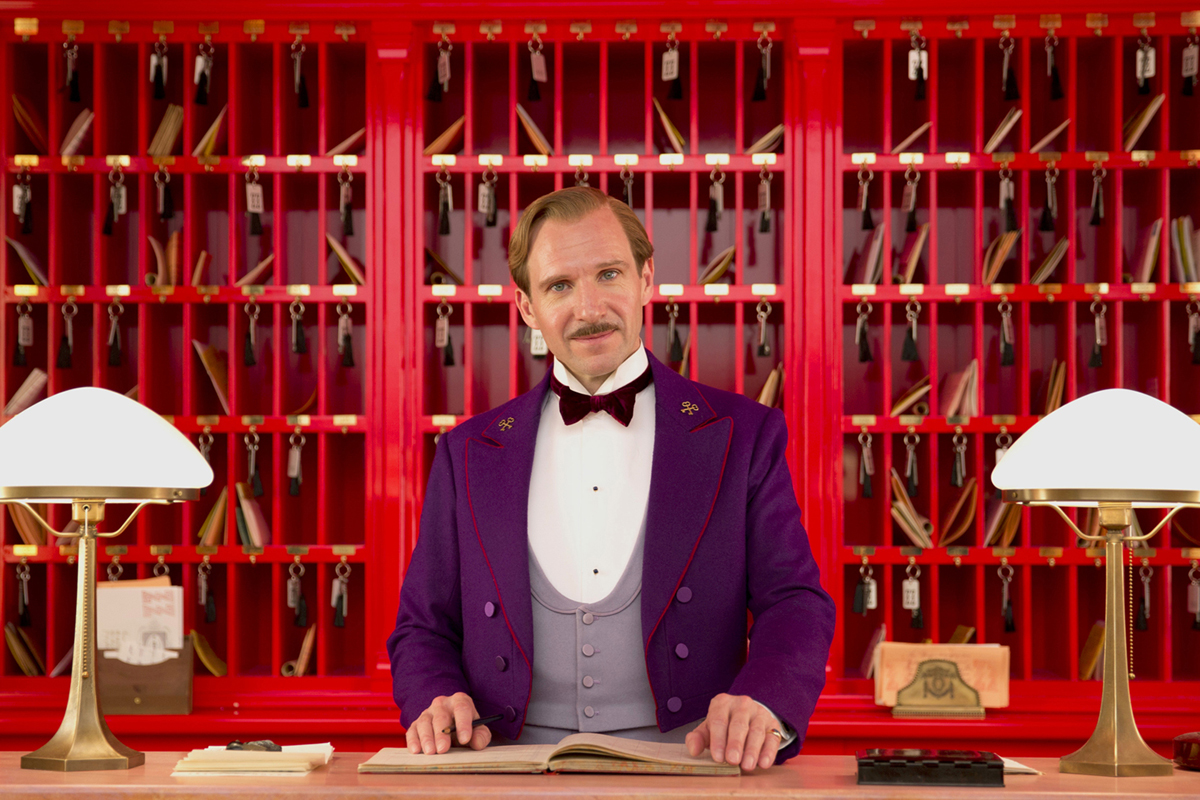 """Ralph Fiennes, """"The Grand Budapest Hotel"""""""