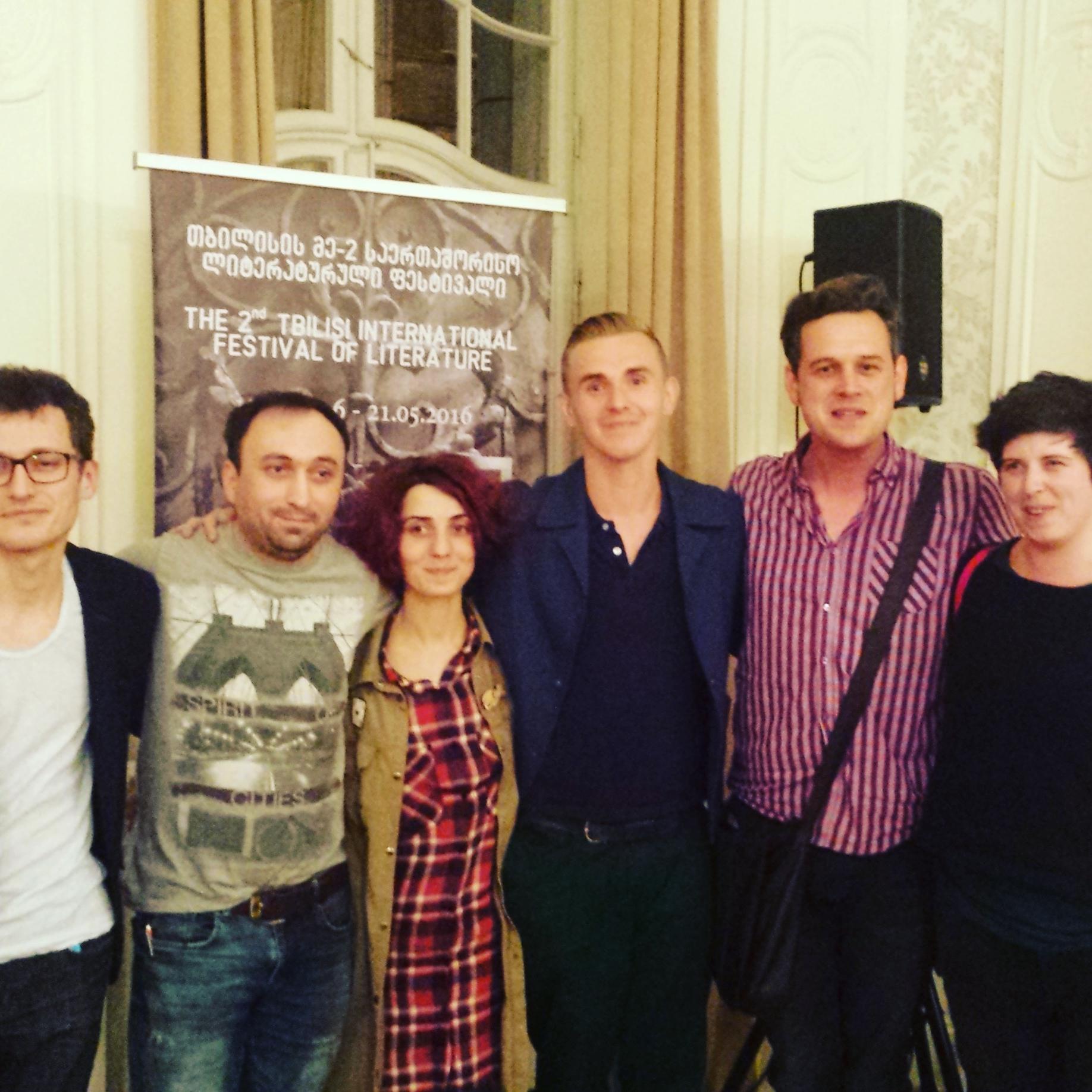 Tbilisi International Literature Festival, Georgia 2016